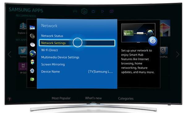 Bagaimana Cara Menghubungkan TV ke Jaringan Kabel atau Wired Network?