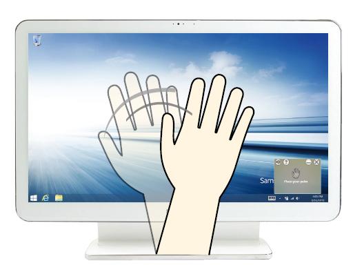 Window 8: Detecting Hand Gesture