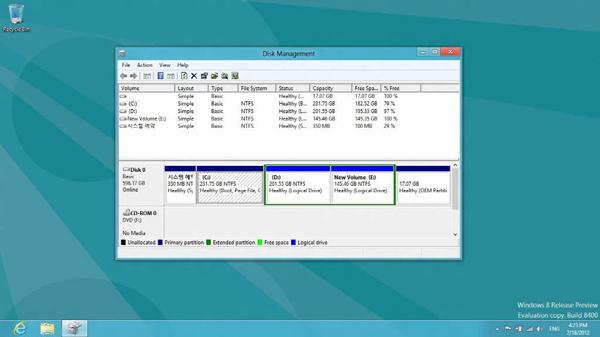 Choose Disk Management