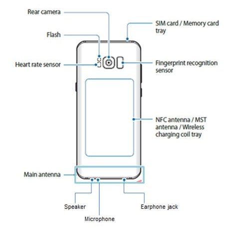 Samsung Galaxy S8/S8+ - Device Layout
