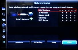 [Smart TV] เมื่อเชื่อมต่ออินเตอร์เน็ต แต่ทีวีไม่มีค่า Mac Address จะตรวจสอบได้อย่างไร?