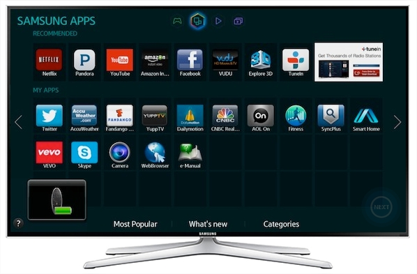 [Smart TV] ฉันสามารถเชื่อมต่อ Smart Touch Remote กับทีวีได้อย่างไร?