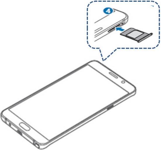 [Galaxy Note 5] ฉันสามารถใส่ซิมการ์ดได้อย่างไร?