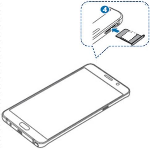 [Galaxy Note 5] ฉันสามารถนำซิมการ์ดออกได้อย่างไร?
