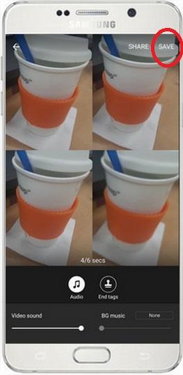 [Galaxy Note 5] ฉันสามารถถ่ายภาพโดยใช้โหมดวิดีโอคอลลาจได้อย่างไร?