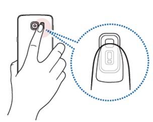 [Galaxy Note 5] ฉันสามารถ่ายภาพด้วยโหมดเซลฟี่ได้อย่าไร?
