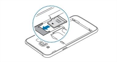 [Galaxy J7] ฉันสามารถใส่ SD Card ได้อย่างไร?