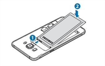 [Galaxy J5 Version2] วิธีการใส่ซิมการ์ดในเครื่อง