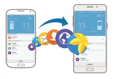 [Galaxy A9 Pro]ขั้นตอนการย้ายข้อมูลจากเครื่องเก่ามายัง Galaxy A9 Pro ผ่านแอพฯ Smart Switch