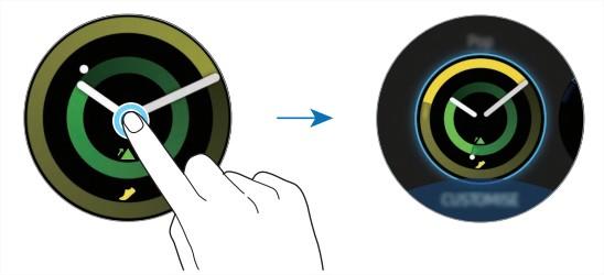 [Gear Sport] ขั้นตอนการเปลี่ยนหน้าปัดนาฬิกาด้วยภาพถ่าย