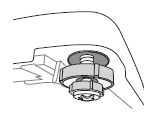 如何使用水平螺絲調整洗衣機平衡?