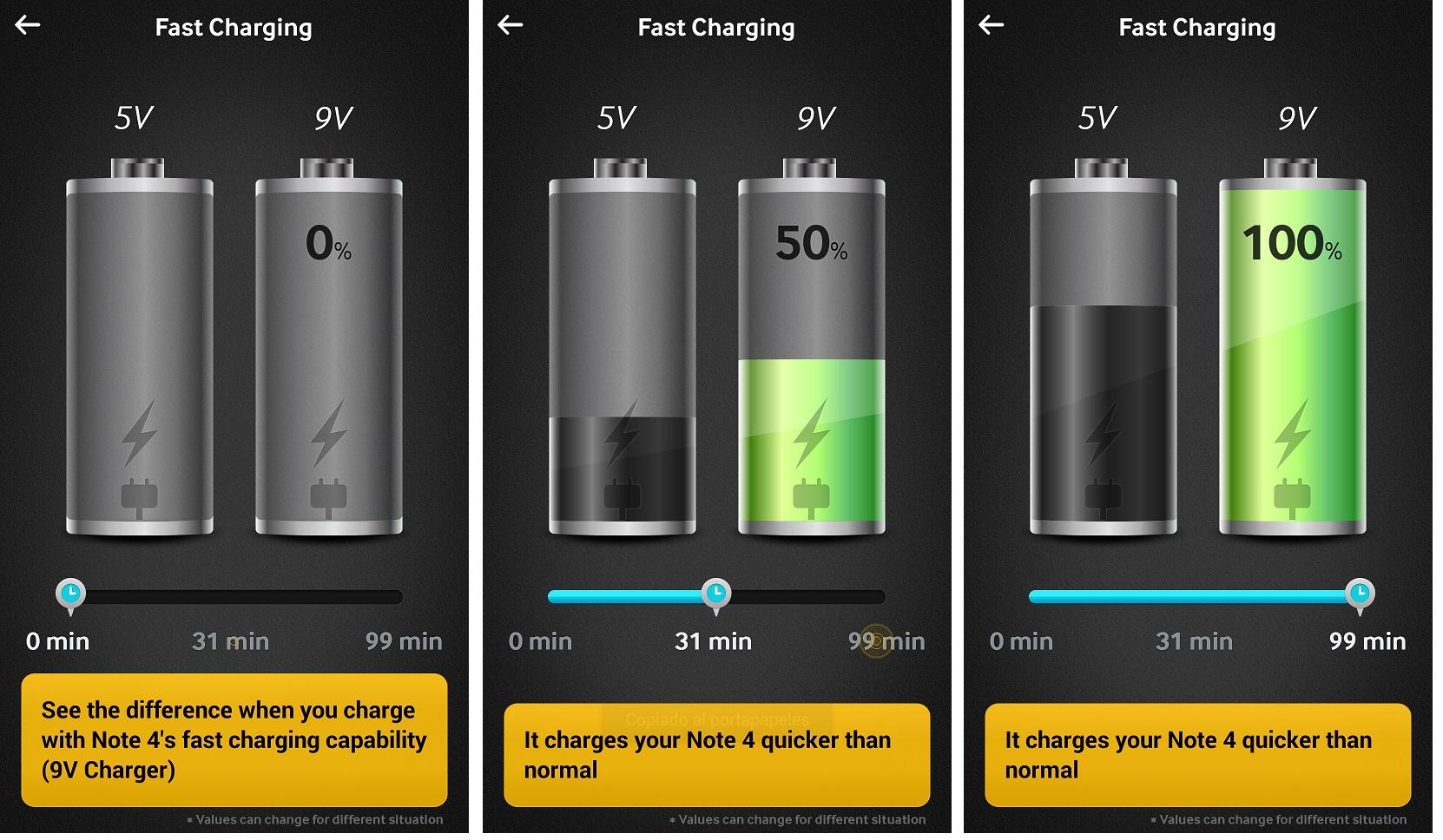 [Galaxy Note 4] 可以將快速充電變壓器給別的型號使用嗎? 或是使用別的型號變壓器使用於Galaxy Note 4?