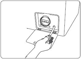 我該如何更換滾筒洗衣機 (WD14F5K5ASG / WD14F5K5ASW) 的棉絮濾網?