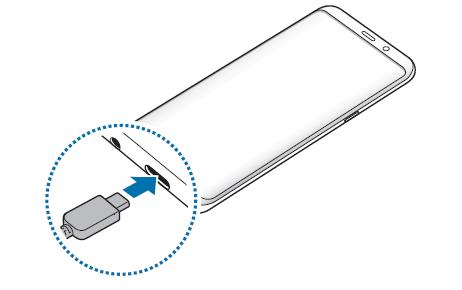 Galaxy S8 & S8+ 如何充電?