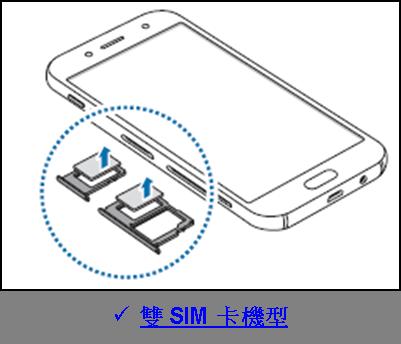 Galaxy J7 Pro 2017 如何移除 SIM 或 USIM 卡?