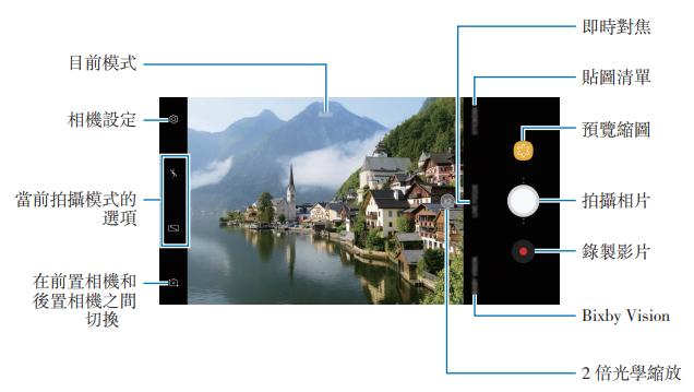 Galaxy Note 8 - 相機操作說明
