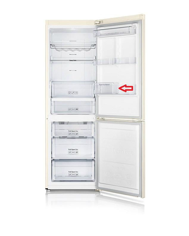 Холодильник з нижньою морозильною камерою серії RB - навіщо потрібен контейнер Grab-n-Go?