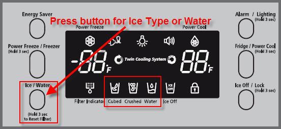 Льодогенератор працює не коректно, робить інший тип льоду.