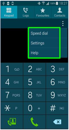 GS5 - Phone - Context Menu Framed