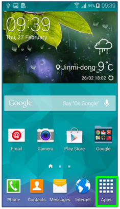 GS5 - Apps Icon Framed