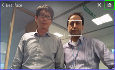 GS5 - Camera App - Best Face Save Button Framed