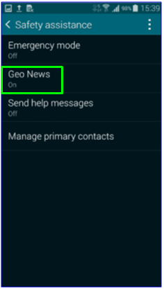 GS5 - Safety Assistance - Geo News Framed