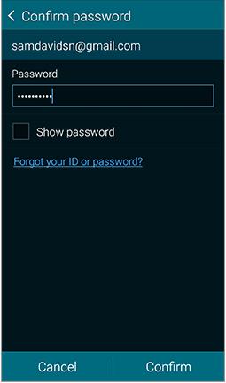 GS5 - Confirm Password