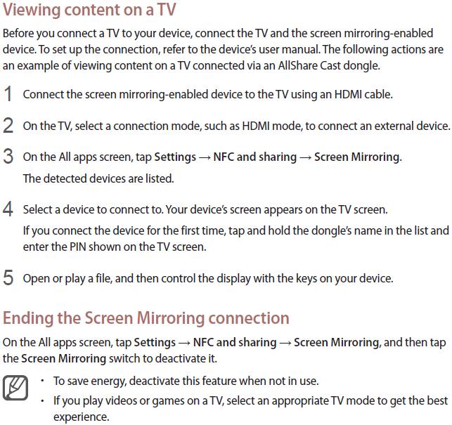 Screen Mirroring 2