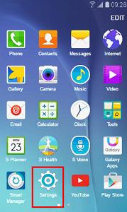 How do I uninstall apps on my Samsung Galaxy device?