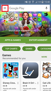 Play Store Menu2