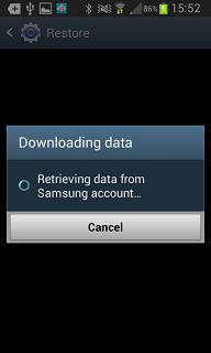 Restoring data