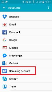 Samsung Account LP