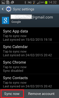Sync now K