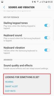 Nougat more settings