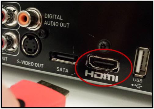 Làm thế nào để kết nối Sound Bar HW-F750 với TV bằng cách sử dụng cáp HDMI?