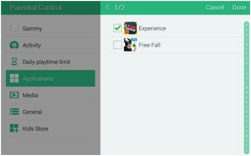 Làm thế nào để xóa ứng dụng trên màn hình của Chế độ trẻ em trong Galaxy S5?