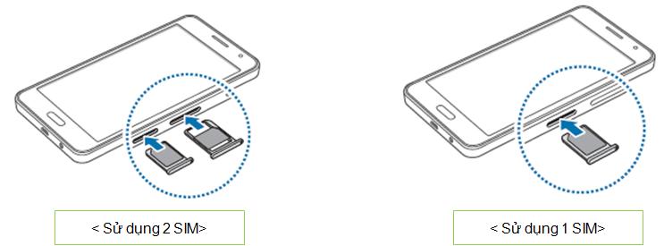 Làm thế nào để lắp SIM vào máy Galaxy A3?