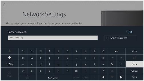 Làm thế nào để kết nối TV UA65JS9000 vào mạng không dây?