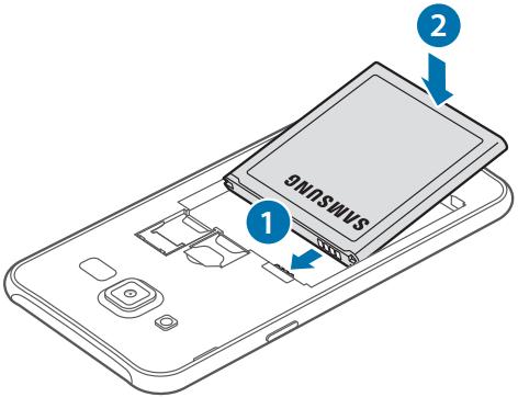 Làm thế nào để gắn thẻ SIM trên máy Galaxy J7?