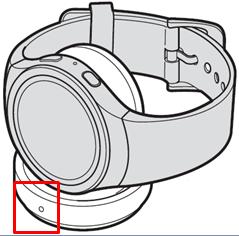Làm thế nào để sạc pin cho Gear S2?