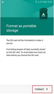 Làm thế nào để định dạng thẻ nhớ trên Galaxy S7 edge của tôi?