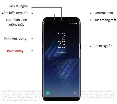 Dưới phím âm lượng của Galaxy S8/S8 plus có một phím mới không giống trước đây?