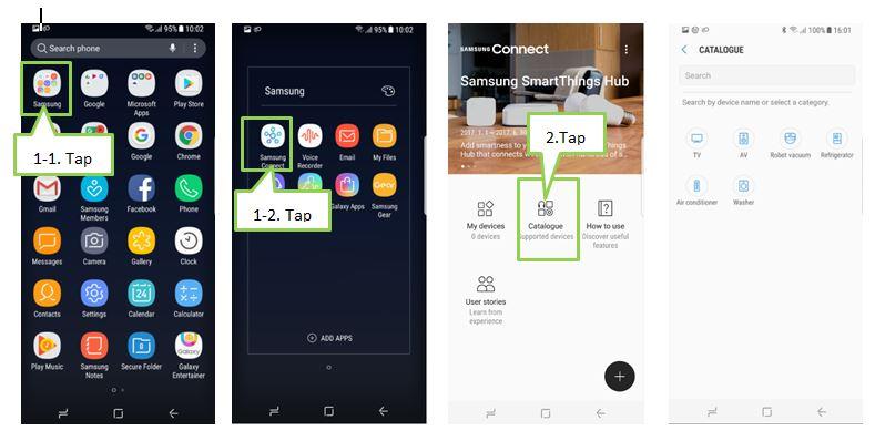 Samsung Connect có thể kết nối S8/S8 plus với tất cả thiết bị dùng ở nhà?