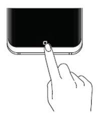 Phải làm gì để nhìn thấy thanh điều hướng và phím Home khi dùng ứng dụng?