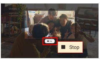 Làm sao chụp hình ảnh hiển thị trong video bằng Smart Select trên Galaxy Tab S3