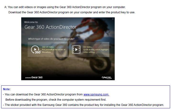 Gear 360 edit