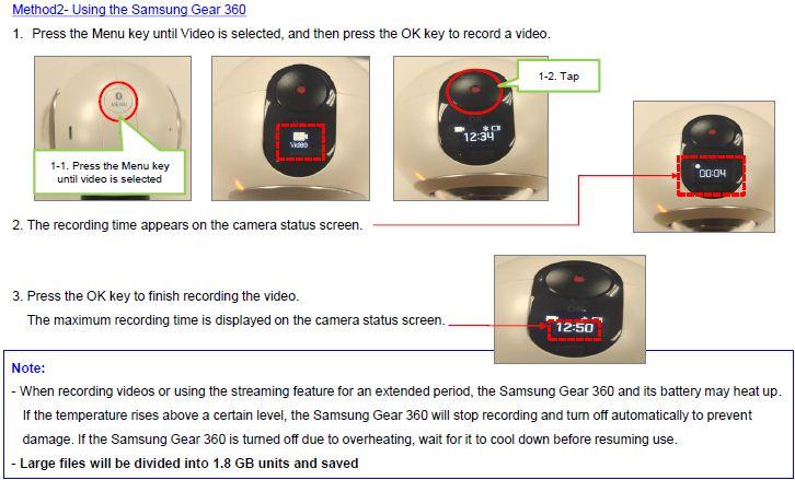 Gear 360 video