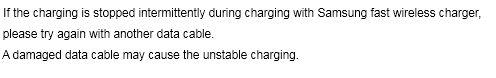S8 Wireless Charging