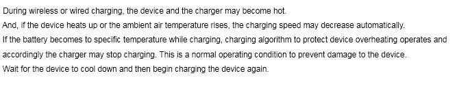 S8 Charging Stop