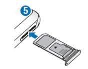 . Insert the tray back into the tray slot